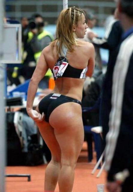 big booty track girls
