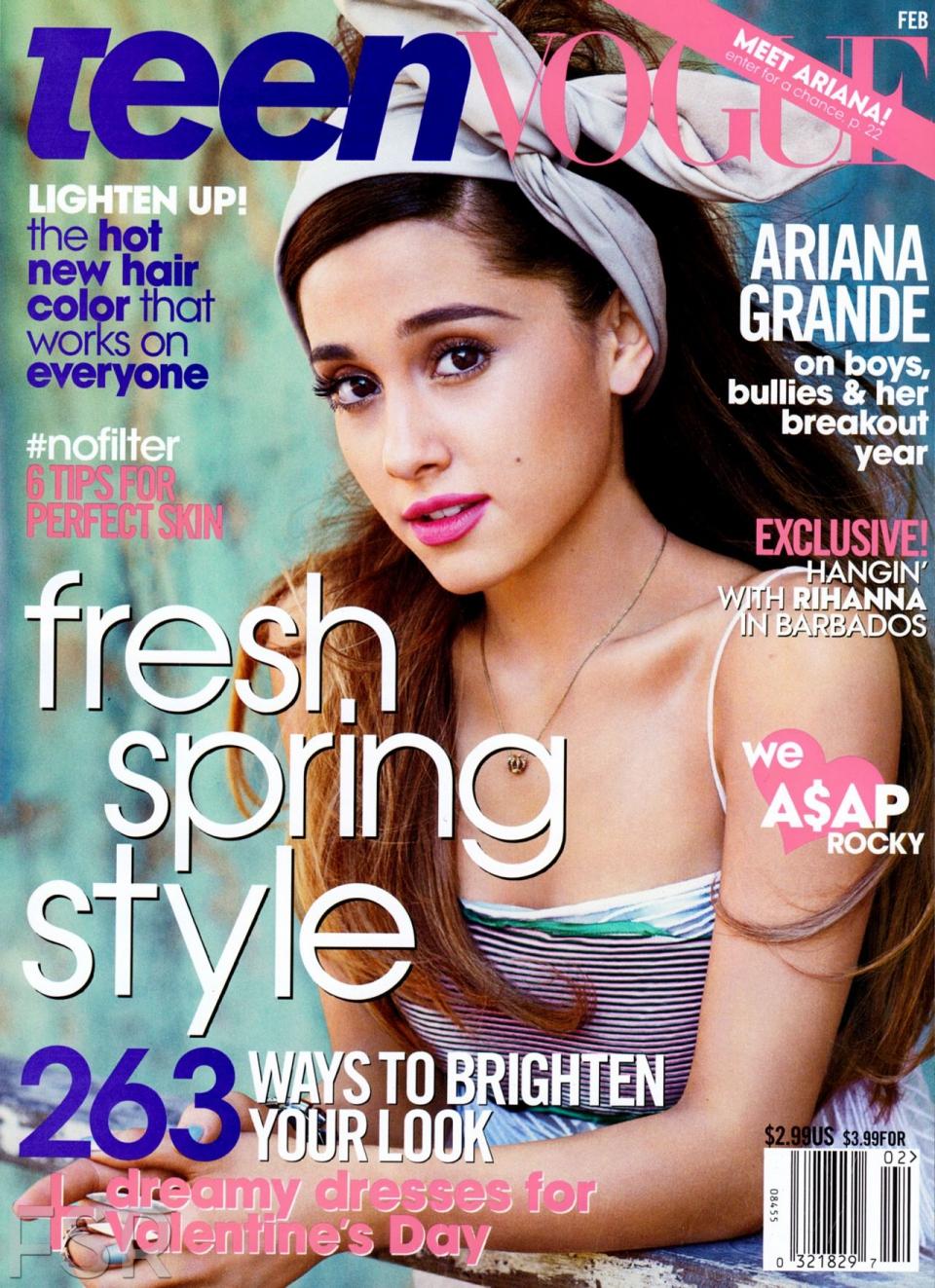 ariana grande teen magazine full size