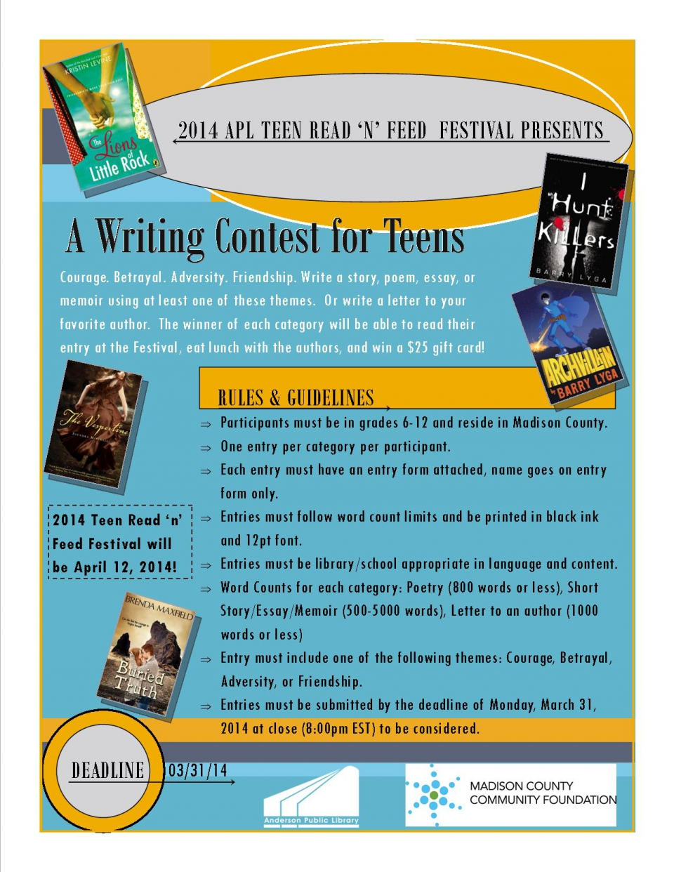 essay writing contests for teens full size