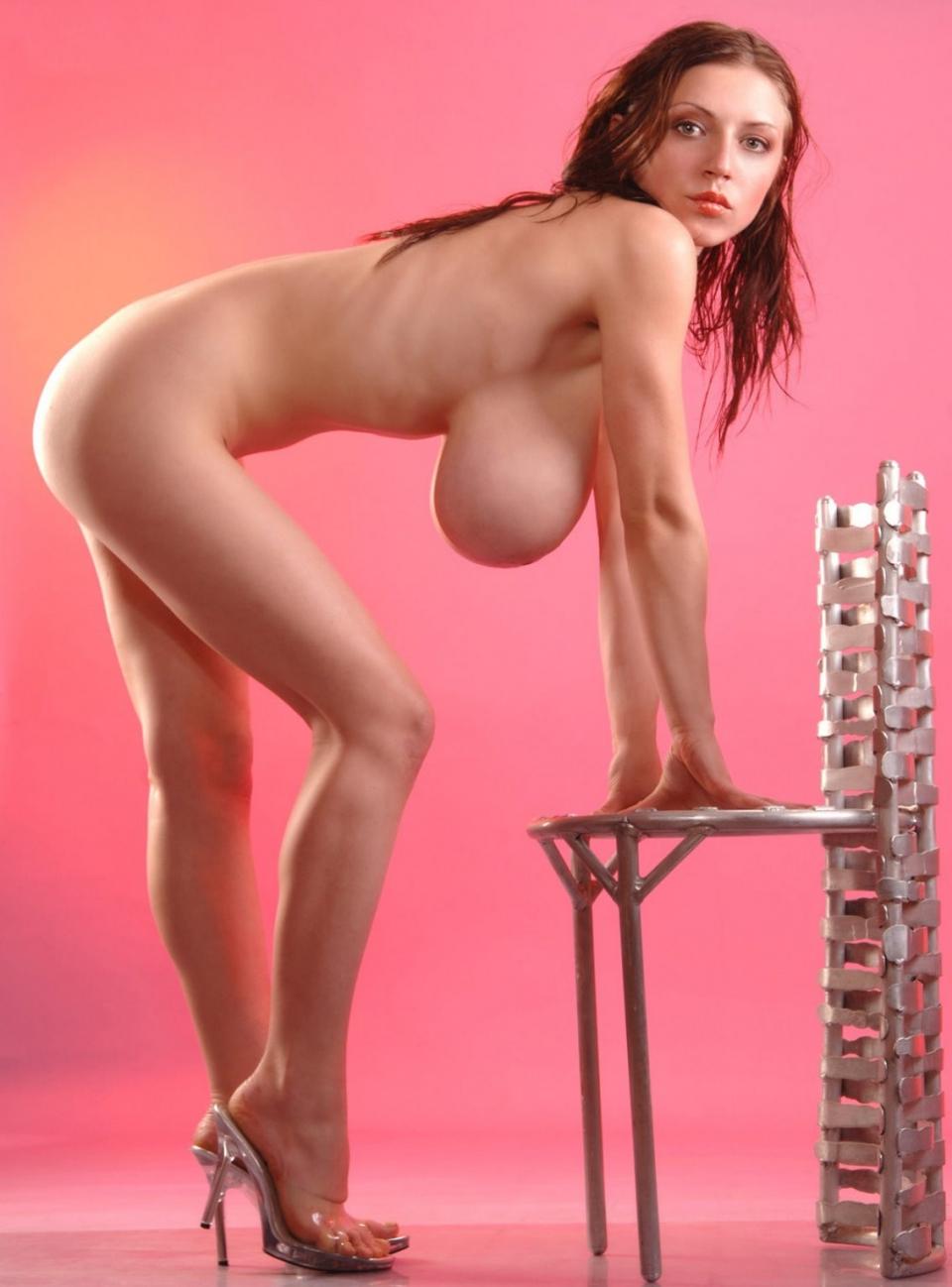 black skinny big tits