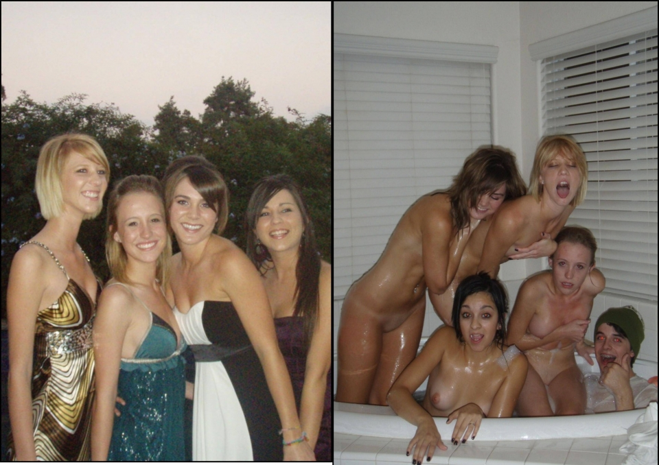 prom girls dressed and undressed full size