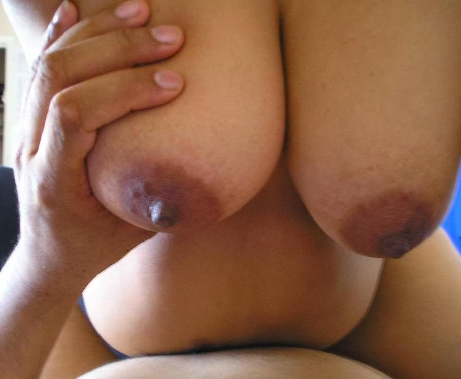 Boob pressing