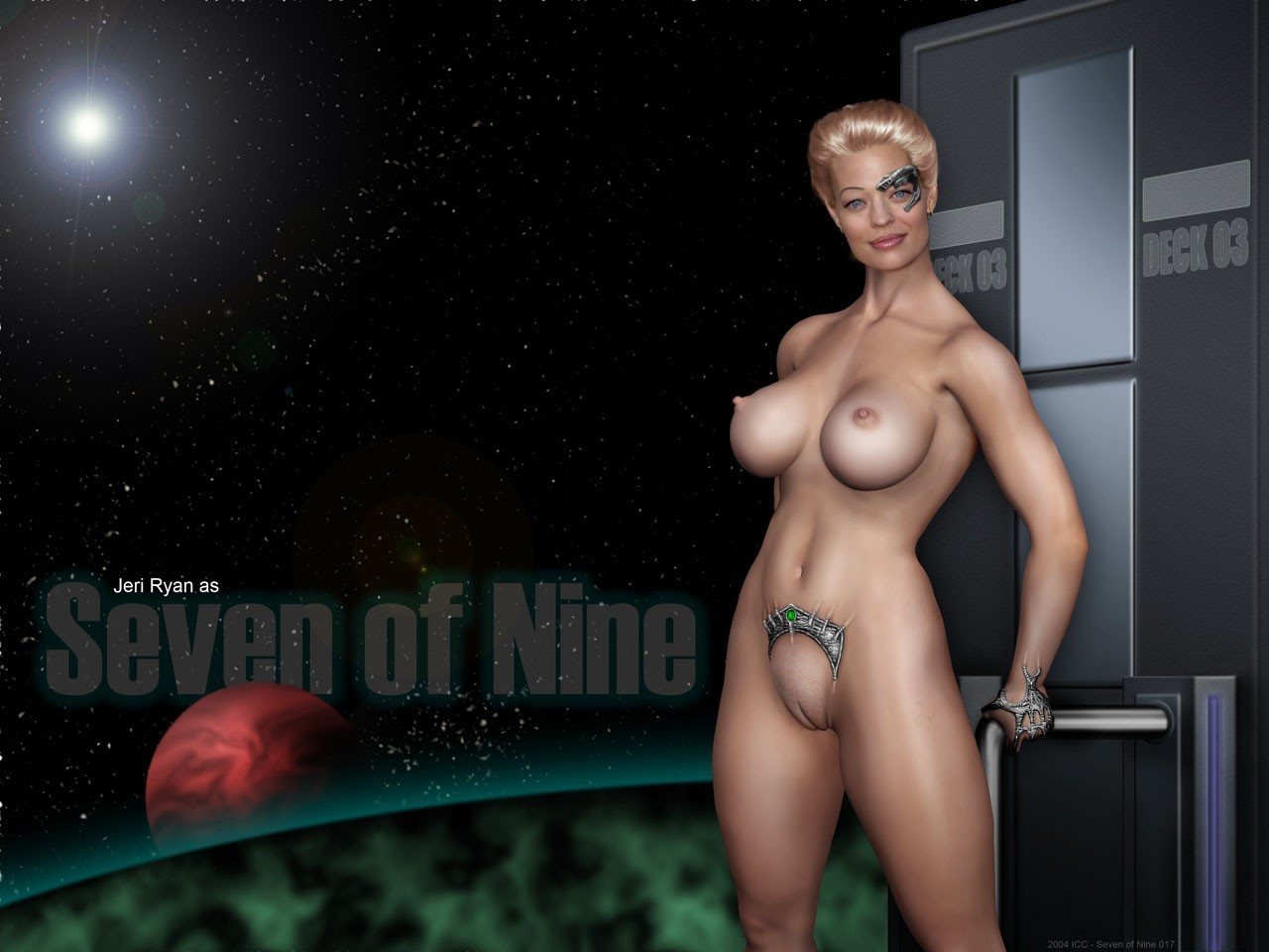 Nude by dione borg